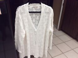 Lace Cover Up Cardigan Sweater $30.00