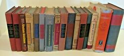 Vintage Antique Lot of 16 Classic Modern Library Books $64.95