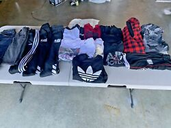 Boys Huge Size 10 12 Clothing LOT Outfits 20 Pieces Name Brand. Adidas Jordan $99.99