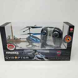 NIB Propel RC Gyropter 2.4GHz Motion Control Gyro Helicopter Blue $26.99