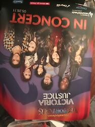 Lot of 2 Victorious Victoria Justice Nickelodeon Live In Concert Posters 5 26 11 $25.00