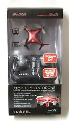 ATOM 1.0 Micro Drone Red $14.85