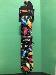 JERRY GARCIA TIE CHRISTMAS COLLECTION LARGE LIGHTS NEW WITH TAG