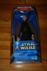 Count Dooku 12quot; Star Wars Attack of the Clones New 1 6 Scale MIB $49.99