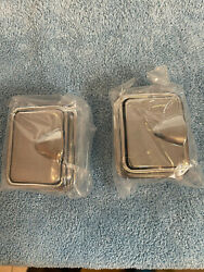 1948 1958 Cadillac Rear Quarter Arm Rest Ash Trays with Bezels Pair $79.00