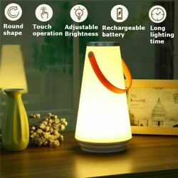 Rechargeable LED Night Light Touch Dimmable Lamp Hiking Camping Lantern Battery $17.51