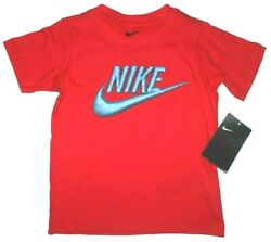 Boys 3T Nike T shirt Red Toddler Shirt summer top New w tags $8.95