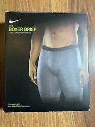 Nike Men Pack of Two Long Boxer Brief Aj1843 060 Small $18.88