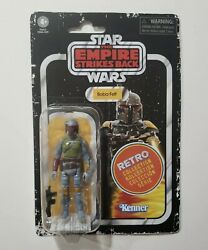 Hasbro Kenner Star Wars Retro Collection Boba Fett 3.75 Figure NEW IN HAND $23.89