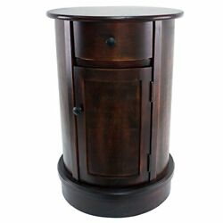 Side Table Vintage Cherry Finish $165.64