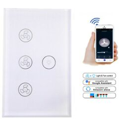 WiFi Touch Lamp Switch fit for Compatible for suit for Google Fan App Alexa Tuya $27.69
