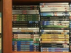 225 Disney Children Movie DVD Lot Pick and Choose Order more and Save Kids $2.95