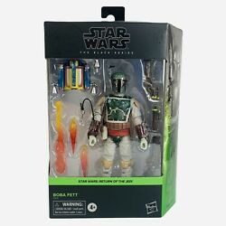 Star Wars Black Series Deluxe Boba Fett 6quot; Inch Return Of The Jedi Hasbro Figure $39.99