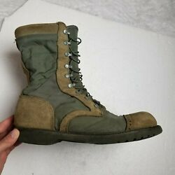 Corcoran 87146 Marauder Military Combat Boots Mens 13 EE Brown Leather Suede $49.95