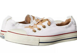 Converse Chuck Taylor All Star Womens White Shoreline Slip On Sneakers Size 8 $79.99