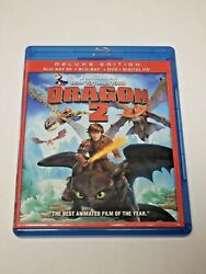 How to Train Your Dragon 2 3D Blu ray amp; Blu ray amp; DVD Very Good condition $9.99