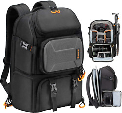 Pro Camera Backpack Large Camera Bag With Laptop Compartment Backpack Pb L $115.99