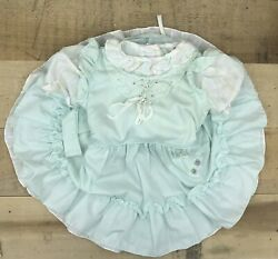 Vintage Pinafore Fancy Party Full Circle Dress Sz 4t Winnie The Pooh $49.99