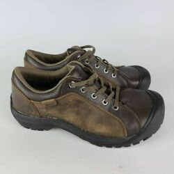 Keen Mens Briggs Cascade Hiking Shoes Brown Black 1011392 Lace Up Low Top 11.5 M $56.99