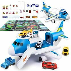 Airplane Toy with Car Toy Helicopter Set Take Apart Toy for Play Set Boy $38.16