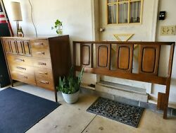 Broyhill Emphasis Magna Chest Broyhill Emphasis Queen Headboard Bedroom Set $800.00