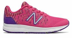 New Balance Kid#x27;s 519v2 Big Kids Female Shoes Pink with Purple $13.49