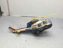 T.P.S Japan Highway Patrol N 317 Toy Helicopter $10.00