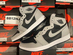 Jordan 1 High OG SHADOW 2.0 DS NEW MENS GRADE SCHOOL 4y 15 *IN HAND* 555088 035 $268.88