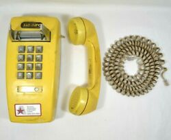 Bell System Vtg Commercial Push Button Wall Phone NFS RARE