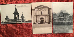 Three Antique Vintage Moscow Postcards Russian Imperial Russia Cards $30.00