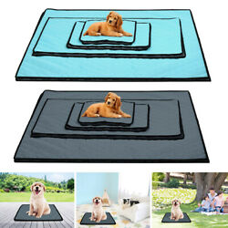 Pet Cooling Mat Cool Pad Cushion Bed Blanket For Summer Dog Cat Puppy S M L XL $18.99