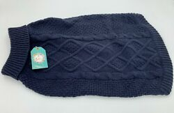 Dog Sweater Navy Blue Turtleneck Pet Supplies Brand New With Tags Medium Size Do $9.99