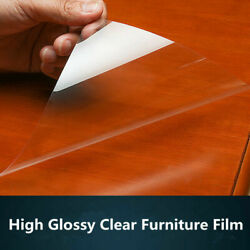 2Mil Glossy Furniture Vinyl kitchen waterproof Protective Film ScratchOil Proof $19.03