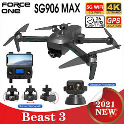 SG906 MAX Pro 3 GPS Drone Laser Obstacle Avoidance 5G WiFi FPV RC Quadcopter $276.12