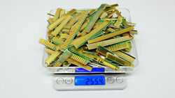 SCRAP PC Gold Fingers 250 grams from PCI AGP ISA and PCI e Cards $73.99