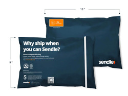 Sendle Compostable Poly Mailers 9 x 13 85 pieces $14.99