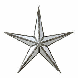 Northlight 11quot; Mirrored Five Point Star Christmas Ornament $19.49