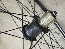 CYCLEOPS POWERTAP G3 CLINCHER RIMS WHEELSET Front amp; Rear in GREAT CONDITION $371.00