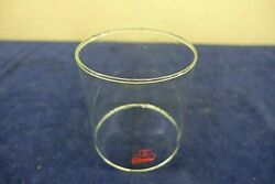 Vintage Coleman Lantern Globe From 220H Pyrex Red Letters Made In USA 220 228 $16.95