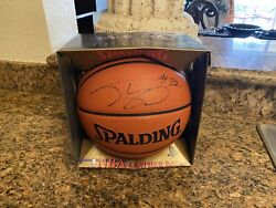Spalding NBA Official Game Ball Leather Men's Basketball 29.5 Signed by Shaq $199.95