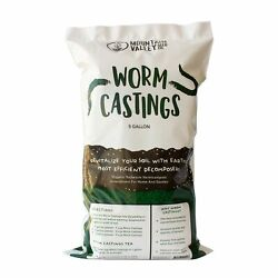 Earth Worm Castings – Organic Red Worm Compost Soil Amendment 1 Cubic Foot ... $99.93