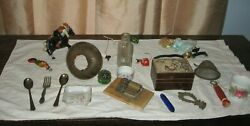 MIXED LOT OF VINTAGE COLLECTIBLES $6.66