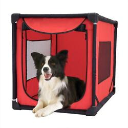 Portable Pet Large Dog Kennel Crate Playpen Puppy Indoor Outdoor Exercise Travel $62.99