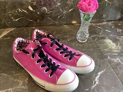 converse all star womens size 9 purple low top lace up chucks $31.95