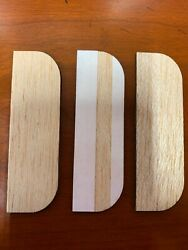 3.5 Inch Wooden Hinge Filler Plates with Adhesive back . 3 In a Pack  $12.00