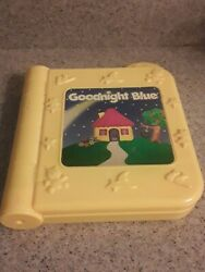 Blue#x27;s Clues Goodnight Blue Tyco 1998 Vintage PARTS OR REPAIR bin R $5.99