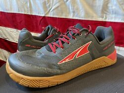 ALTRQ HIIT XTCross Training Gray Red Gum Sole Running Sneakers MENS 13 48 Shoes $44.99
