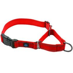 Max and Neo Martingale Buckle All Nylon Dog Collars Red BLACK amp; Pink Available $8.00