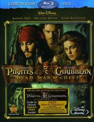 Pirates of the Caribbean: Dead Man#x27;s Chest New Blu ray With DVD $11.49