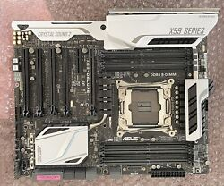Asus Motherboard Crystal Sound II 2 X99 Deluxe Mobo ATX $250.00